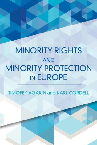 Cover image for the book Minority Rights and Minority Protection in Europe