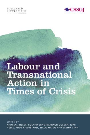 Cover image for the book Labour and Transnational Action in Times of Crisis