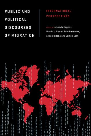 Cover image for the book Public and Political Discourses of Migration: International Perspectives
