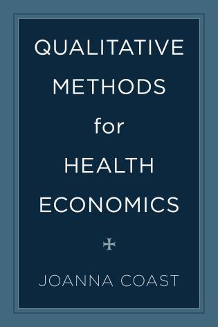 Cover image for the book Qualitative Methods for Health Economics