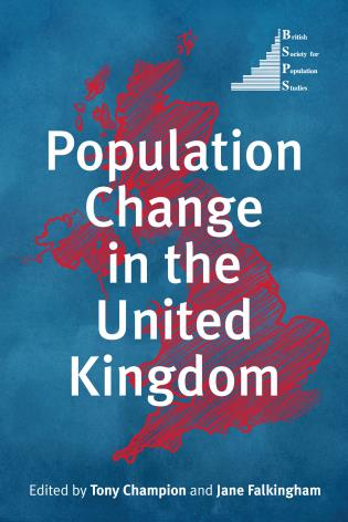 Cover image for the book Population Change in the United Kingdom