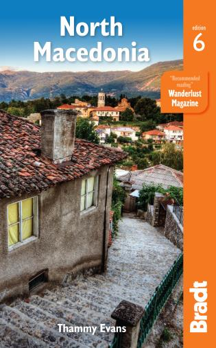 Cover image for the book North Macedonia, Sixth edition
