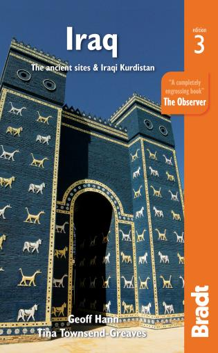 Cover image for the book Iraq: The Ancient Sites & Iraqi Kurdistan, Third edition