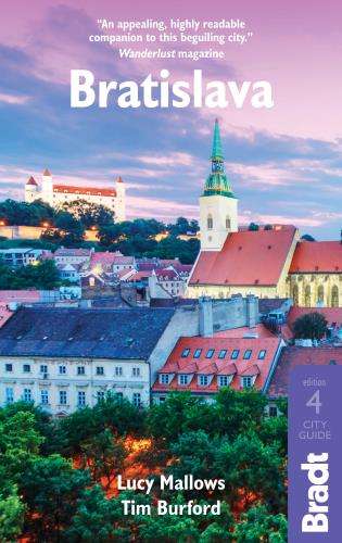 Cover image for the book Bratislava, Fourth edition