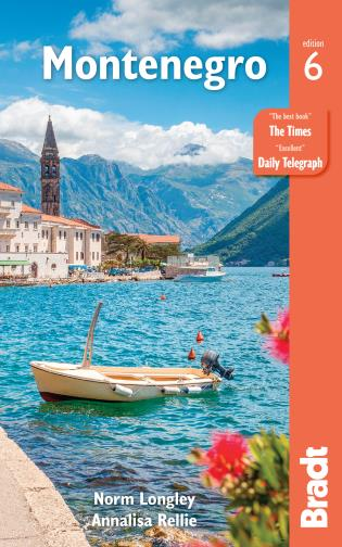 Cover image for the book Montenegro, Sixth Edition