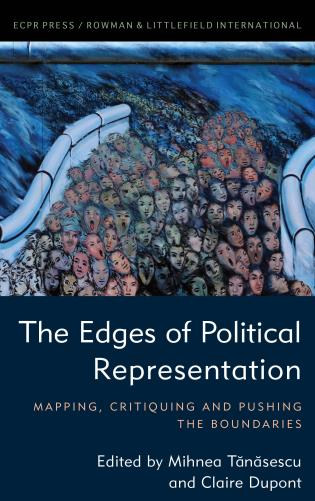 Cover image for the book The Edges of Political Representation: Mapping, Critiquing and Pushing the Boundaries