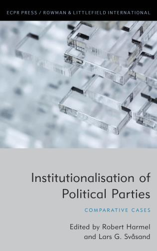 Cover image for the book Institutionalisation of Political Parties: Comparative Cases