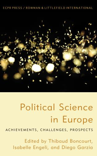 Cover image for the book Political Science in Europe: Achievements, Challenges, Prospects