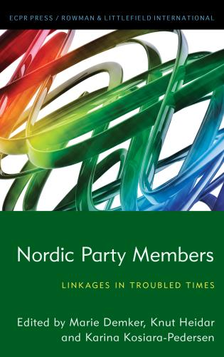 Cover image for the book Nordic Party Members: Linkages in Troubled Times