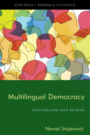 Cover image for the book Multilingual Democracy: Switzerland and Beyond
