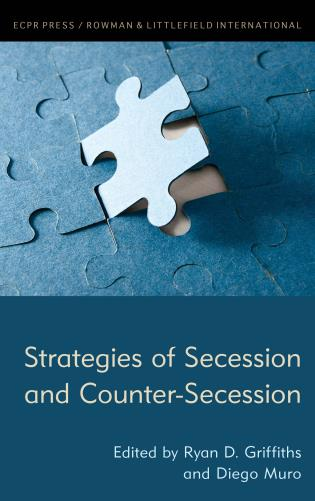 Cover image for the book Strategies of Secession and Counter-Secession
