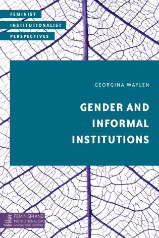 Cover image for the book Gender and Informal Institutions