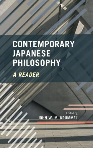 Cover image for the book Contemporary Japanese Philosophy: A Reader