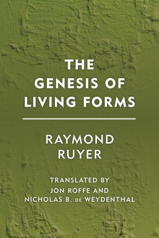 Cover image for the book The Genesis of Living Forms