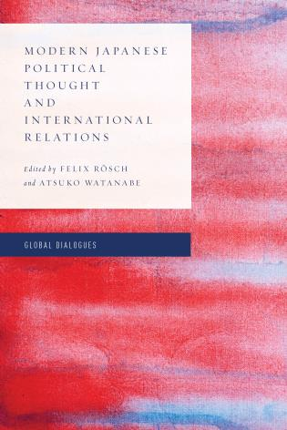 Cover image for the book Modern Japanese Political Thought and International Relations