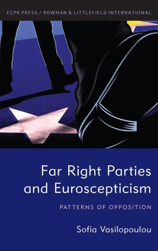 Cover image for the book Far Right Parties and Euroscepticism: Patterns of Opposition
