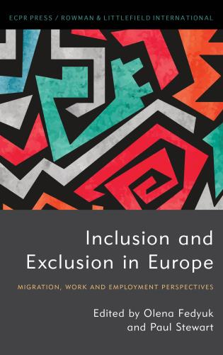 Cover image for the book Inclusion and Exclusion in Europe: Migration, Work and Employment Perspectives