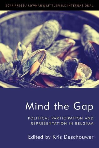 Cover image for the book Mind the Gap: Political Participation and Representation in Belgium