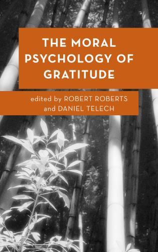 Cover image for the book The Moral Psychology of Gratitude