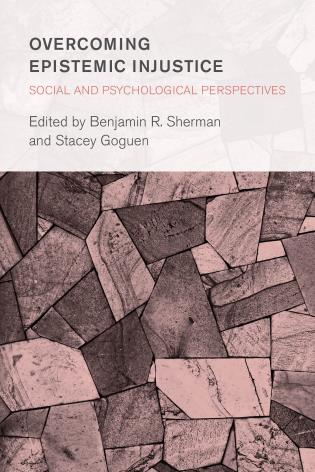 Cover image for the book Overcoming Epistemic Injustice: Social and Psychological Perspectives