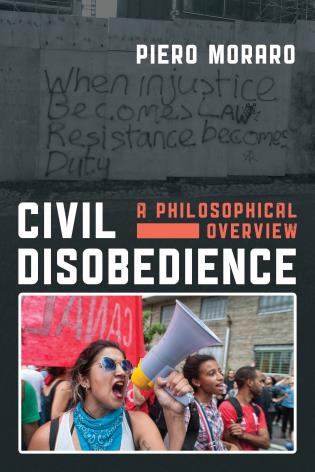 Cover image for the book Civil Disobedience: A Philosophical Overview