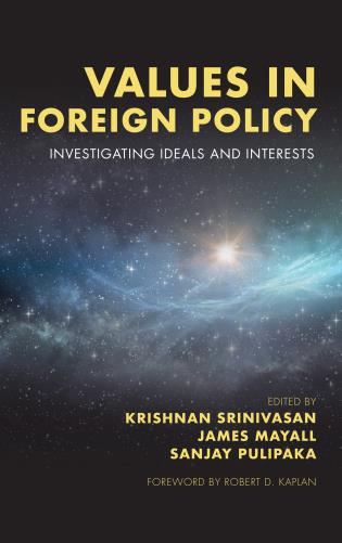 Cover image for the book Values in Foreign Policy: Investigating Ideals and Interests