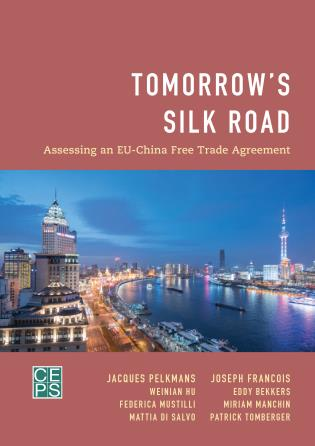 Cover image for the book Tomorrow's Silk Road: Assessing an EU-China Free Trade Agreement