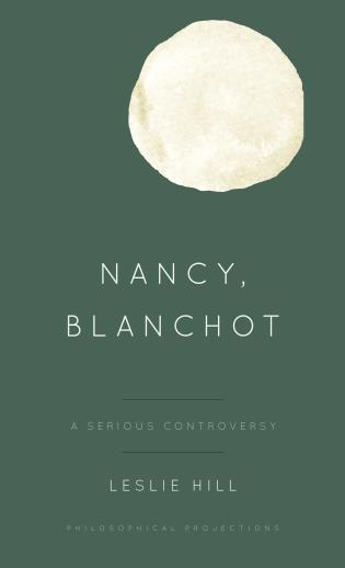 Cover image for the book Nancy, Blanchot: A Serious Controversy