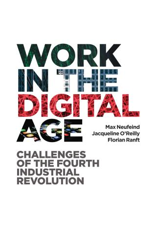 Cover image for the book Work in the Digital Age: Challenges of the Fourth Industrial Revolution