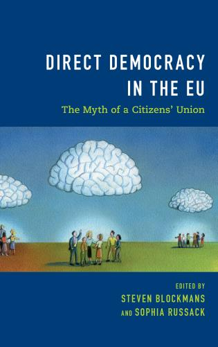 Cover image for the book Direct Democracy in the EU: The Myth of a Citizens' Union