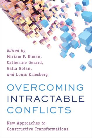 Cover image for the book Overcoming Intractable Conflicts: New Approaches to Constructive Transformations