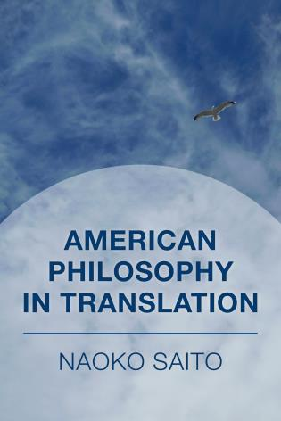 Cover image for the book American Philosophy in Translation