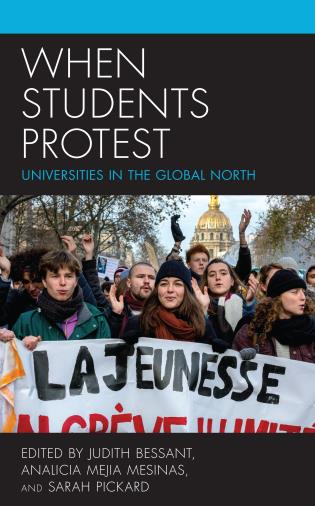 Cover image for the book When Students Protest: Universities in the Global North