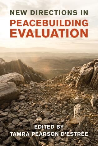 Cover image for the book New Directions in Peacebuilding Evaluation