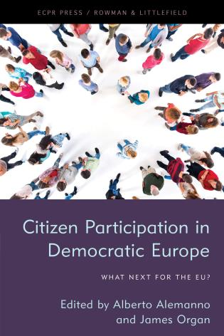 Cover image for the book Citizen Participation in Democratic Europe: What Next for the EU?