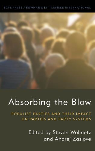 Cover image for the book Absorbing the Blow: Populist Parties and their Impact on Parties and Party Systems