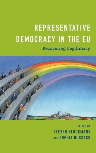 Cover image for the book Representative Democracy in the EU: Recovering Legitimacy