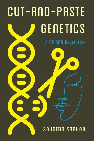 Cover image for the book Cut-and-Paste Genetics: A CRISPR Revolution