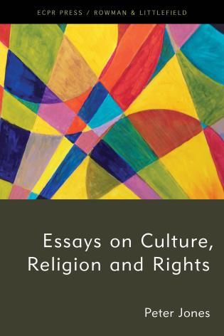 Cover image for the book Essays on Culture, Religion and Rights