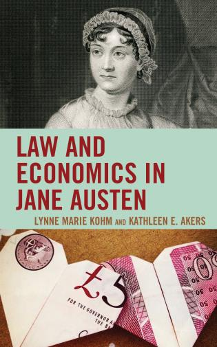 Cover image for the book Law and Economics in Jane Austen