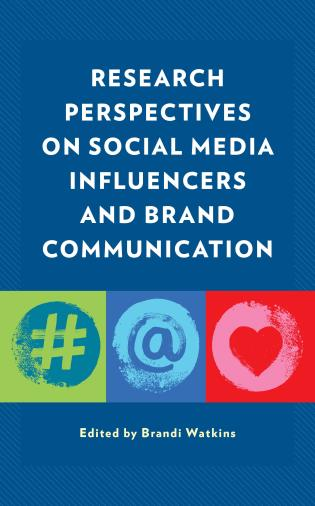 Cover image for the book Research Perspectives on Social Media Influencers and Brand Communication