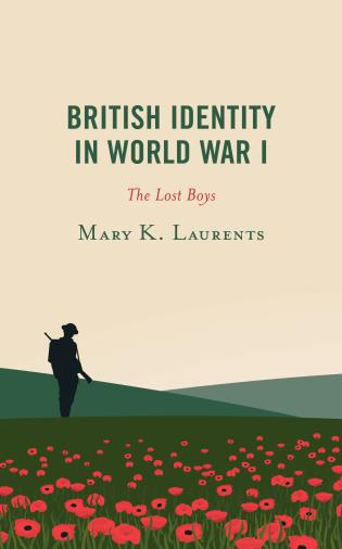 Cover image for the book British Identity in World War I: The Lost Boys