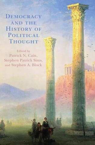 Cover image for the book Democracy and the History of Political Thought