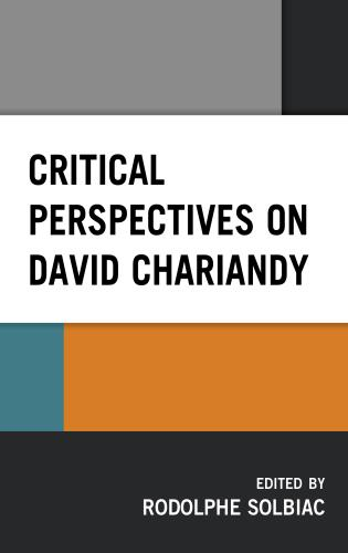 Cover image for the book Critical Perspectives on David Chariandy