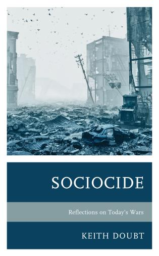 Cover image for the book Sociocide: Reflections on Today's Wars