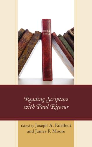 Cover image for the book Reading Scripture with Paul Ricoeur