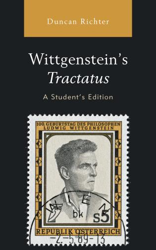 Cover image for the book Wittgenstein's Tractatus, A Student's Edition