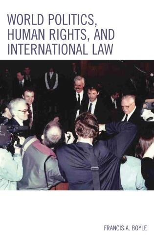 Cover image for the book World Politics, Human Rights, and International Law