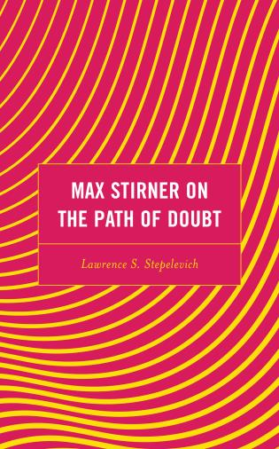 Cover image for the book Max Stirner on the Path of Doubt