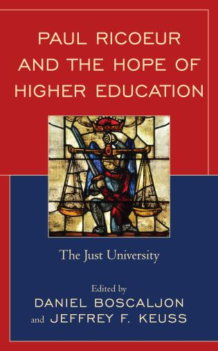 Cover image for the book Paul Ricoeur and the Hope of Higher Education: The Just University
